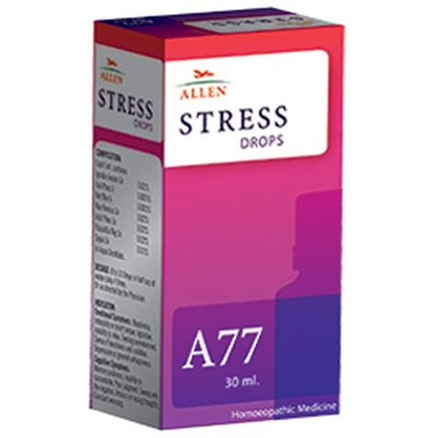 Allen A77 Drops, Homeopathic Stress Medicine