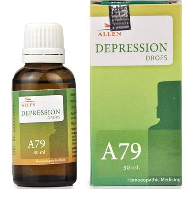 Allen A79 Depression Drops for Hopelessness, Fears, Insomnia, Suicidal Thoughts