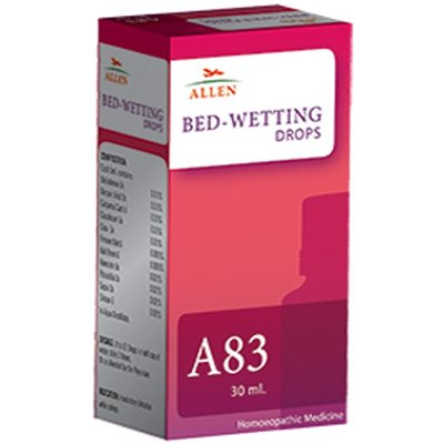 Allen A83 Drops, Homeopathic Bed Wetting Medicine