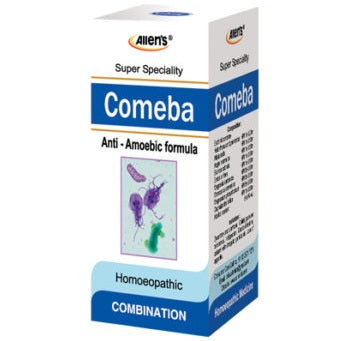 Allen Comeba drops - Anti amoebic formula for dysentery and diarrhoea