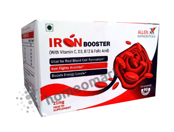 Allen Iron Booster Capsules for Iron Deficiency