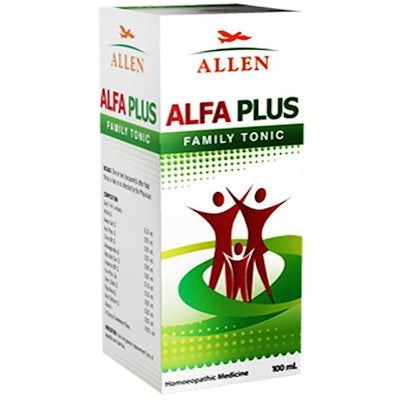 Allen Alfa Plus Ginseng Syrup for Loss of Appetite
