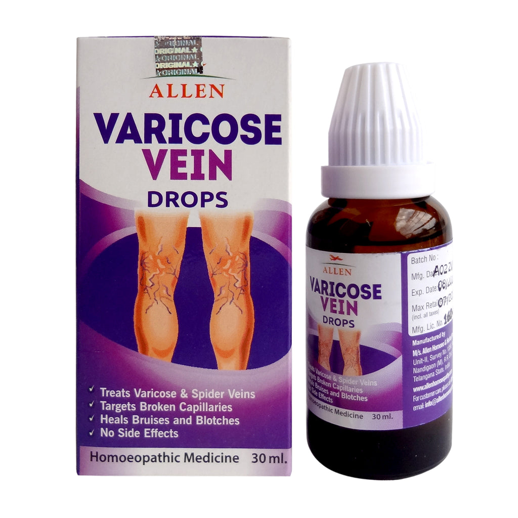 Allen Varicose Vein Drops for Varicose and Spider Veins