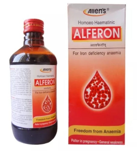 Allens Alferon Syrup for Iron deficiency anaemia