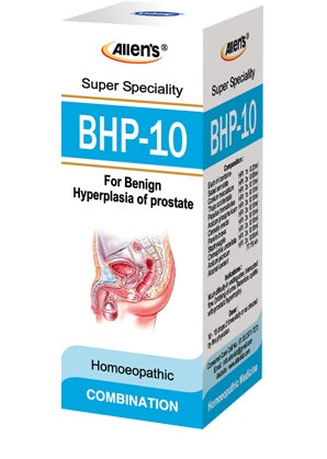 Allens BHP 10 for enlarged prosatate, urinary problems