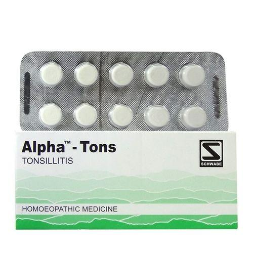 Schwabe Alpha Tons tablets for inflammation of Tonsils