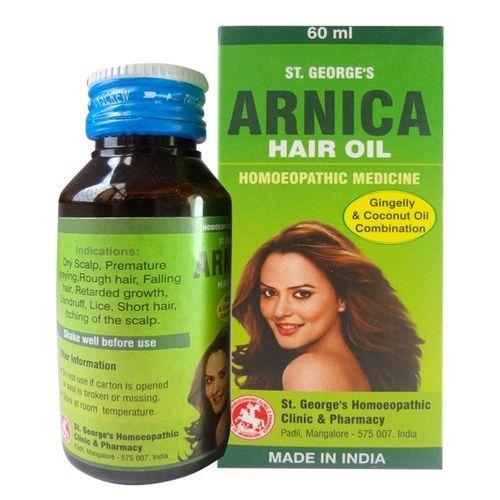 St. George's Arnica Hair Oil No 2 with Gingelly, Coconut Oil