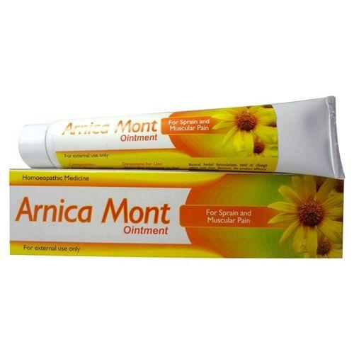 St George Arnica Mont Ointment for Sprain, Muscular pain -Pack of 3