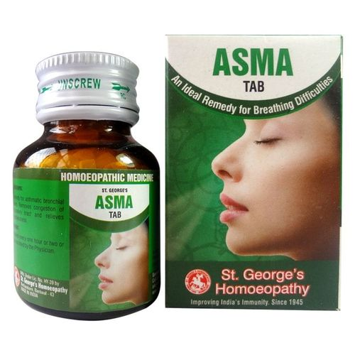 St George Asma Tab - An Ideal Remedy for Breathing Difficulties