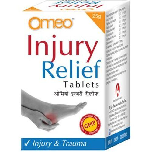 BJain Omeo Injury Relief Tablets for Injury and Trauma