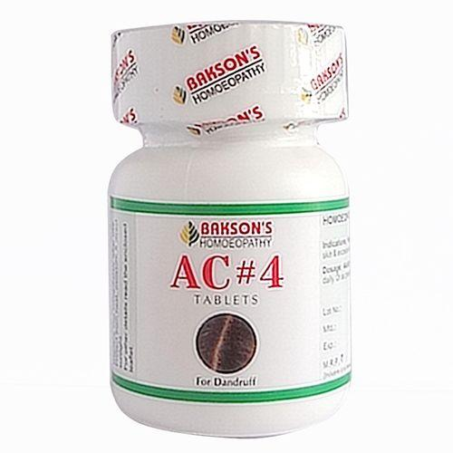 Baksons AC4 Tablets for dandruff free hair