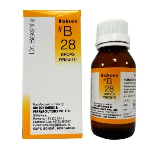 Dr.Bakshi B28 Weight Drops for Obesity, Overweight persons