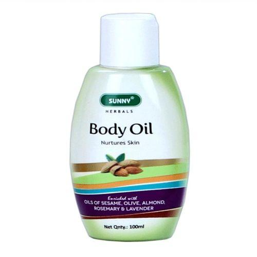 Baksons Sunny Herbals Body Oil with Sesame, Olive Oil