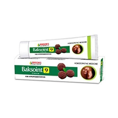 Bakson Baksoint 9 Cream for Leucoderma, Eczema, Psoriasis -Pack of 3