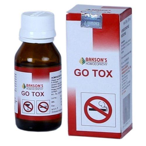 Baksons Go Tox de-addiction drops