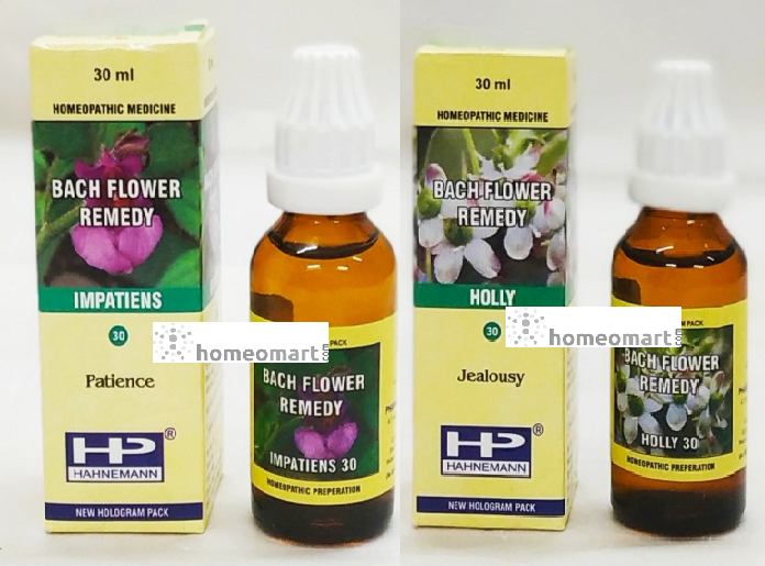 BFR Mix Impatiens, Holly for Excessively barking dogs