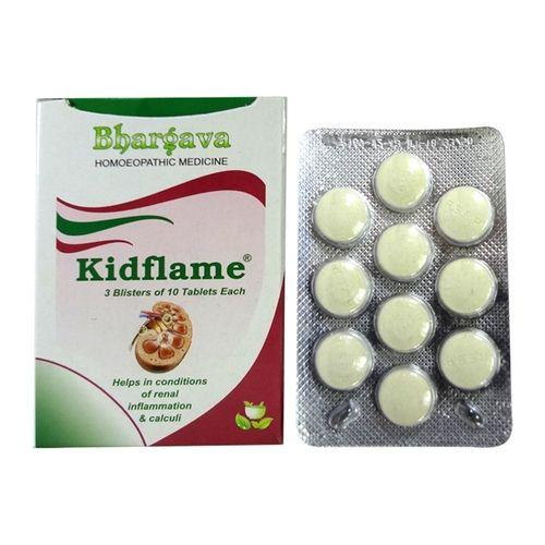 Bhargava Kidflame Tablets for Renal Inflammation & Calculi