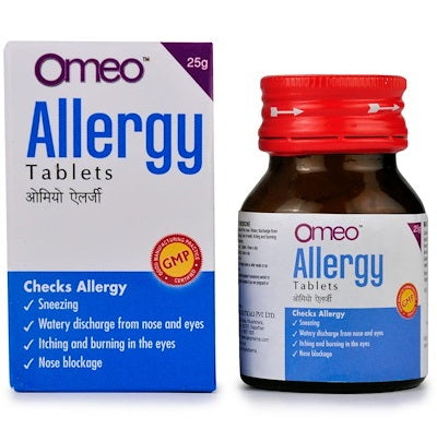 BJain Omeo Allergy Tablets for Nasal Allergies