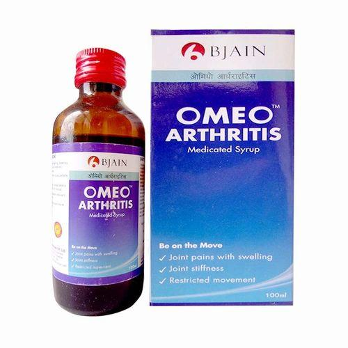 BJain Omeo Arthritis Syrup for Joint Pain and Swelling, Muscle Stiffness