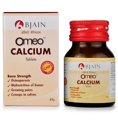 BJain Omeo Calcium Tablets for Osteoporosis