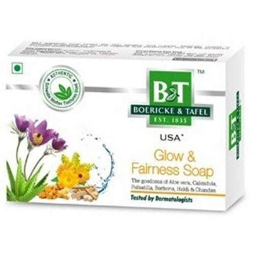Schwabe B&T Glow & Fairness Soap with Berberis, Pulsatilla,   pack of 3