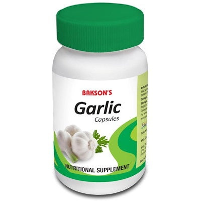 Bakson Garlic capsules, nutritional supplements for wholesome health
