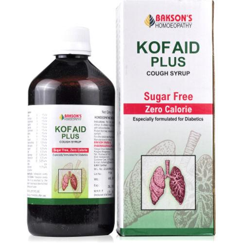 Bakson Kof Aid Plus - Sugar Free Cough Syrup