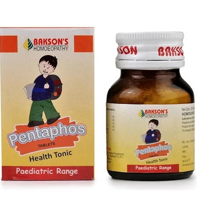 Bakson Pentaphos Tablets - Health Tonic (Paediatric Range)