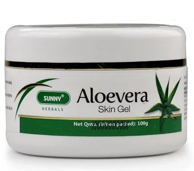 Bakson Sunny Aloevera Skin Gel for Radiant, Glowing & Healthy Skin