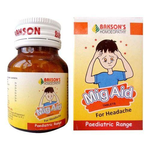 Bakson Mig Aid (Paediatric) Tablets
