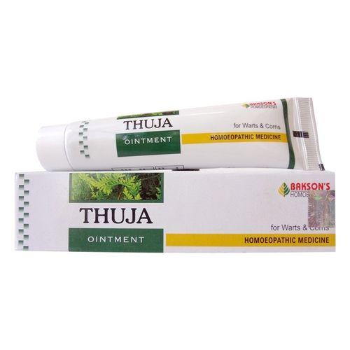 Bakson Thuja Ointment for Warts, Corns, Polypi-Pack of 3