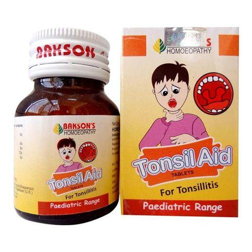 Bakson Tonsil Aid (Paediatric ) Tablets