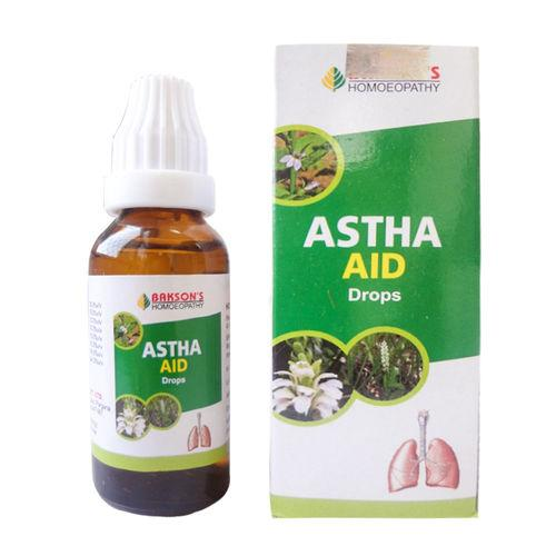 Baksons Astha Aid Drops for Breathing Problems