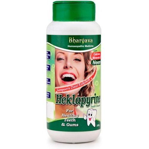 Bhargava Hecklapyrine Tooth Powder for Healthy Teeth and Gums