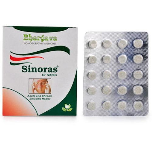 Bhargava Sinoras Tablets for Sinusitis