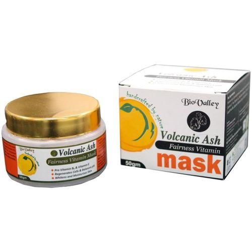 Bio Valley Volcanic Ash Natural Mask (Whitens and Moisturizes skin)