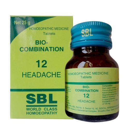 SBL Bio-combination No. 12 for headache