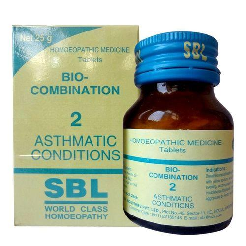 SBL Bio-combination No.2 for asthmatic conditions