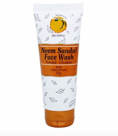 Bio valley neem sandal face wash - A natural moisturizer and oil controller
