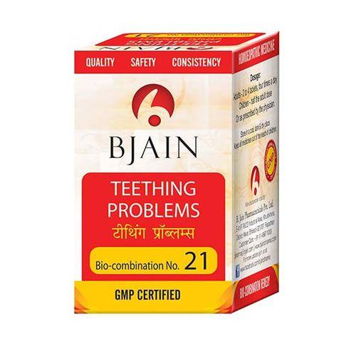 Bjain Biocombination No 21 Tablets for Teething Problems
