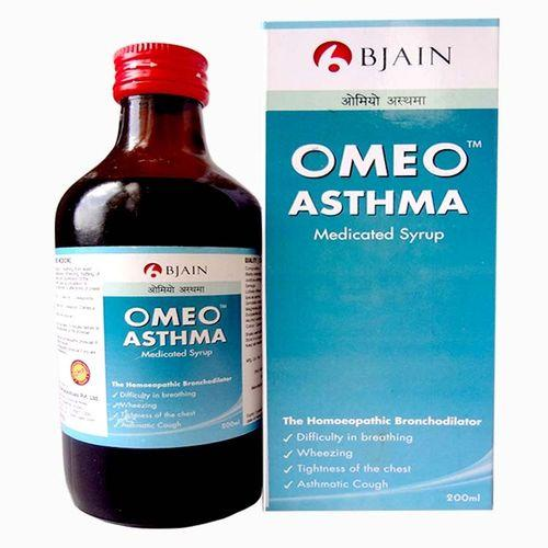 BJain Omeo Asthma Medicated syrup