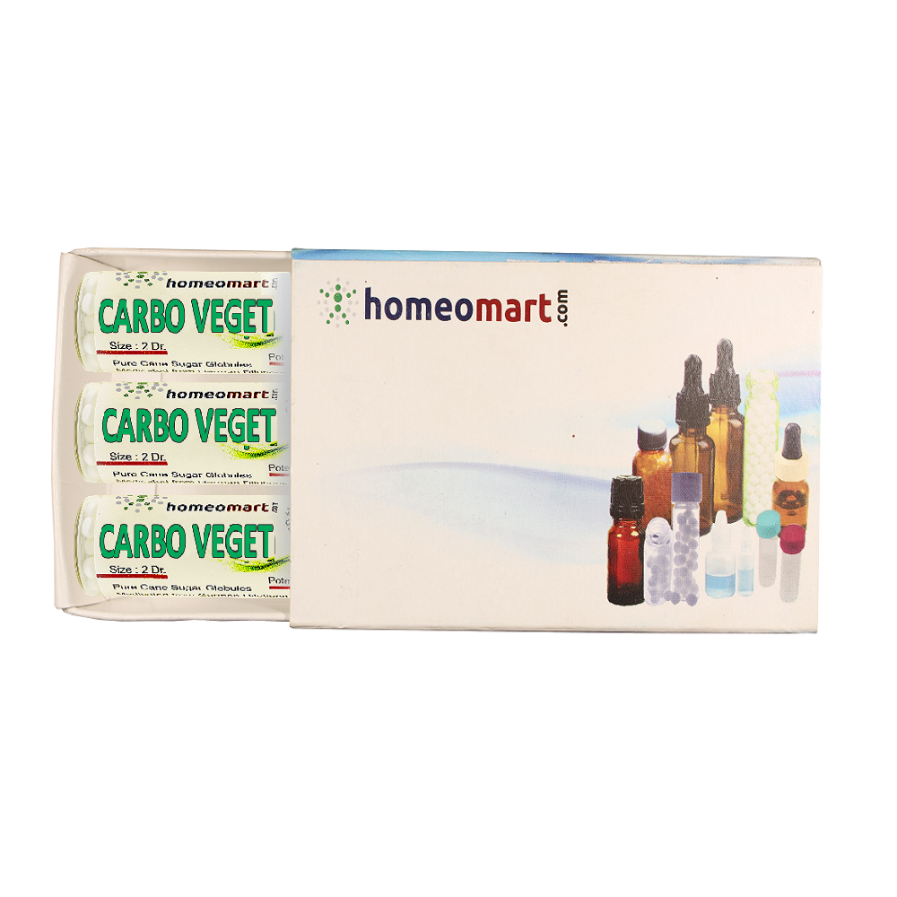 Homeopathy Carbo Vegetabilis 2 Dram Pills 6C, 30C, 200C, 1M, 10M