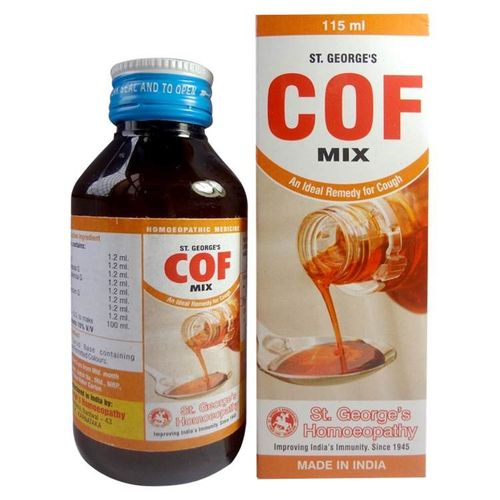 St George Cof Mix  An Ideal Remedy for Cough -Pack of 3