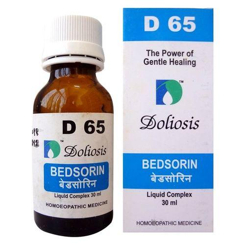 Doliosis D65 Bedsorin drops