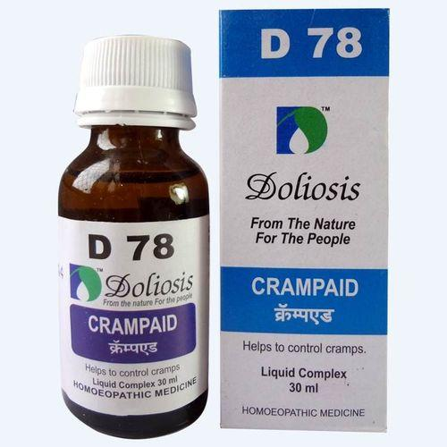 Doliosis D78 Crampaid drops for Cramps