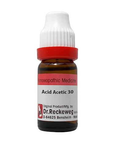 Acidum Aceticum Homeopathy Dilution 6C, 30C, 200C, 1M, 10M