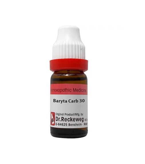 Dr Reckeweg Baryta Carbonica Dilution 6C, 30C, 200C, 1M, 10M