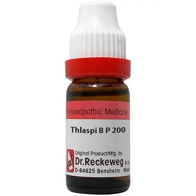 Dr Reckeweg Thalaspi B P Dilution 6C, 30C, 200C, 1M, 10M