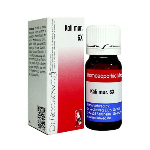 Dr.Reckeweg Biochemic Tablets Kali Muriaticum for Cold, Catarrh, Stuffy head