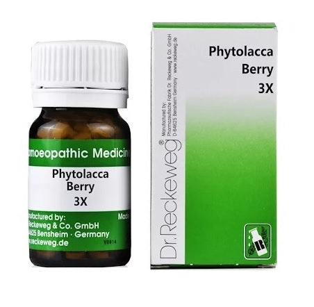 Dr Reckeweg Phytolacca Berry 3X Trituration Tablets